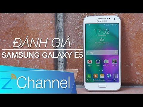 Đánh giá Samsung Galaxy E5: Cấu hình tốt, hiệu năng cao, giá rẻ