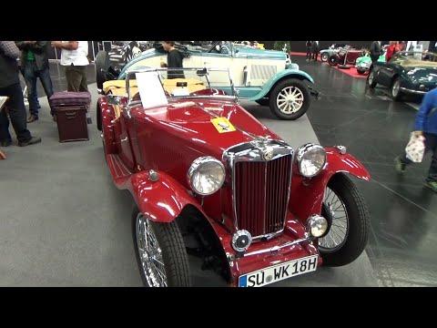 1939, MG TA Roadster