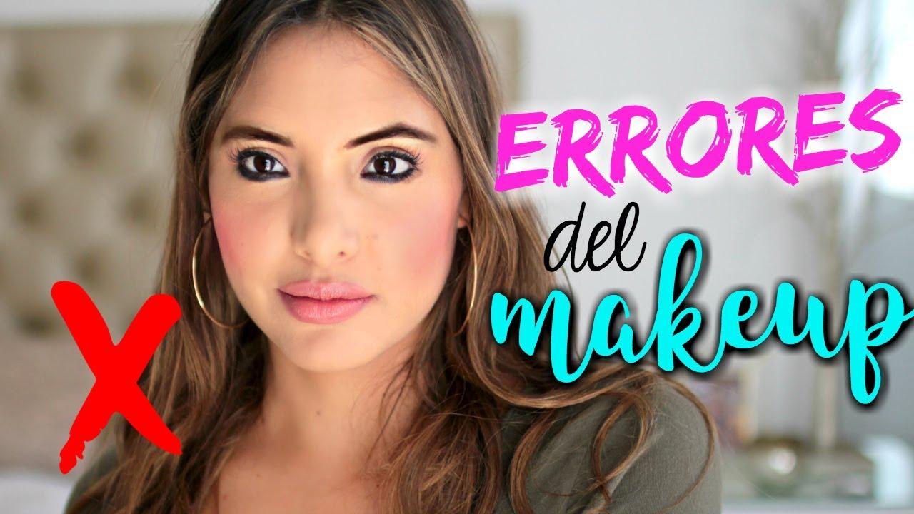 10 COSAS DE MAQUILLAJE QUE HACES MAL | Valeria Basurco