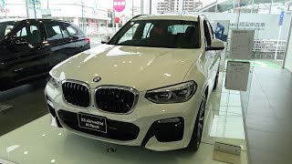 NEW BMW X3 X Drive 20d  エクステリア&インテリア