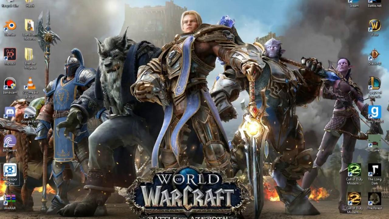 New Battle For Azeroth Live Desktop Wallpaper The Alliance