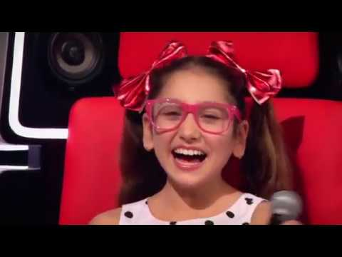 """THE VOICE KIDS GERMANY 2018 - Daria - """"Popular"""" - Blind Auditions"""