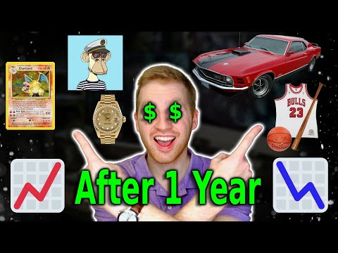 Results from Alternative Investments (Cars, Watches, Books, etc.) for 1 Year! Rally Rd Results