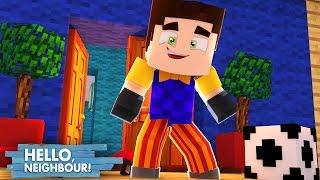 Minecraft: HELLO NEIGHBOR - A INFÂNCIA DO VIZINHO!