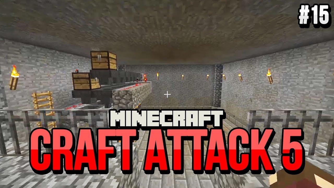 Die Geheime BahnhofsMaschine CRAFT ATTACK Clym YouTube - Minecraft geheime hauser