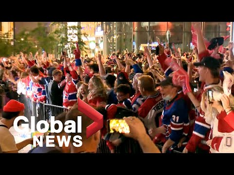 Habs avoid the sweep, but post-game celebrations in Montreal lead to lead to arrests, tickets