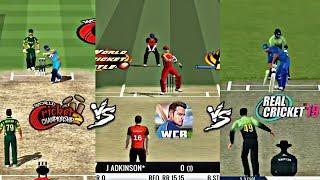 WCC2 vs WCB vs RC19 (comparison)