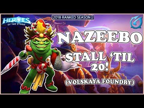 Grubby | Heroes of the Storm - Nazeebo - Stall 'til 20! - HL 2018 S2 - Volskaya Foundry