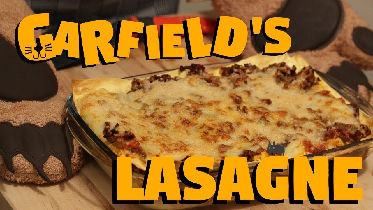 Garfield S Lasagne Original Italian Recipe Youtube