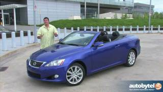 Lexus IS 250C Convertible Car Videos
