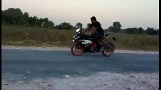 KTM RC 200 Bike Real Stunt New Latest Video