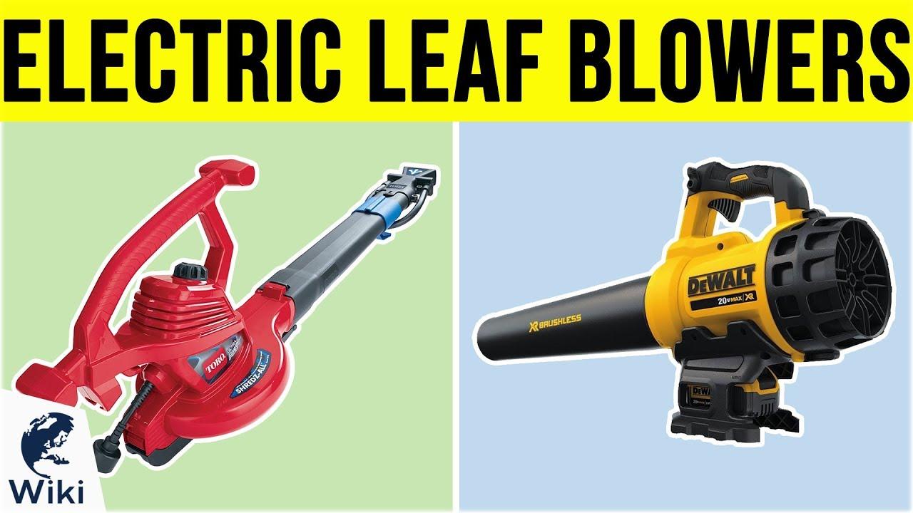 Best Electric Leaf Blower 2019 9 Best Electric Leaf Blowers 2019   YouTube
