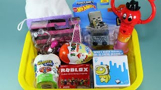 Surprise Toys Box Minecraft Roblox Kinder Eggs Christmas Chocolates