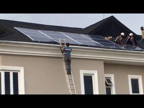 Solar in Nigeria 24: Easter Marathon Installs 2/4