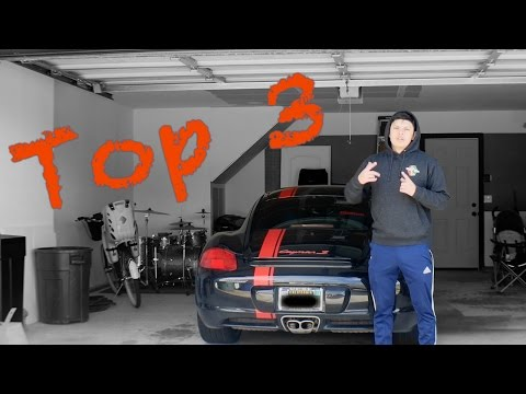 3 Things I Love about My Porsche Cayman