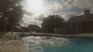 Small Diving Board Double Front Flip Fail
