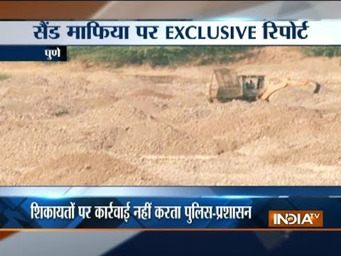 c908dd353a6f9 IndiaTV Exclusive: Illegal sand mining in Pune, Solapur and ...