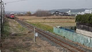 八戸臨海鉄道 DD16形11レ 八戸貨物~北沼 2018年11月28日