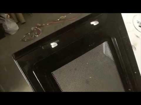 Over The Range Microwave Oven Door Repair Help How To