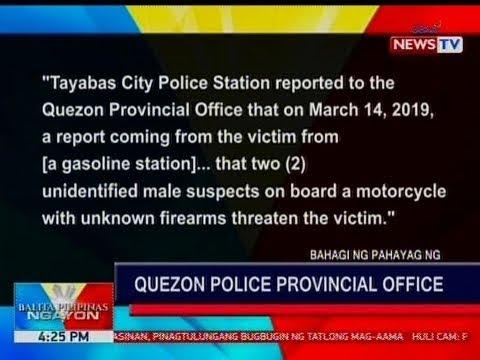 BP: Anak ni Sariaya, Quezon Mayor Marcelo Gayeta at security escort nito, patay sa umano'y shootout