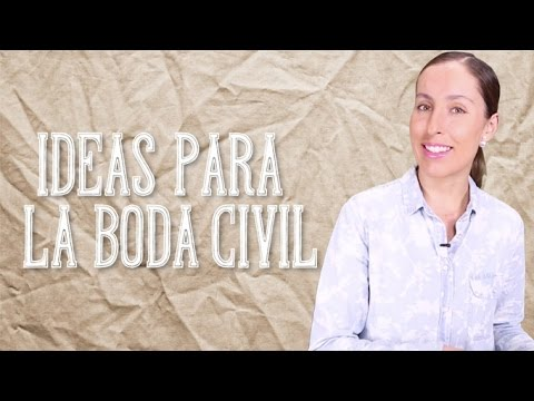 Ideas para una boda civil el blog de mar a jos youtube - Cosas que preparar para una boda ...