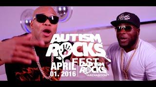 FLO RIDA & TYGA - LIVE IN DUBAI | AUTISM ROCKS FEST | FRIDAY 1ST APRIL 2016 - DUBAI OUTLET MALL