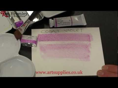 Winsor & Newton Artists' Water Colour paint Cobalt Violet 192 Series 4