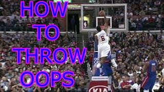 NBA 2K17 Tips How To Throw Alley Oops All Game
