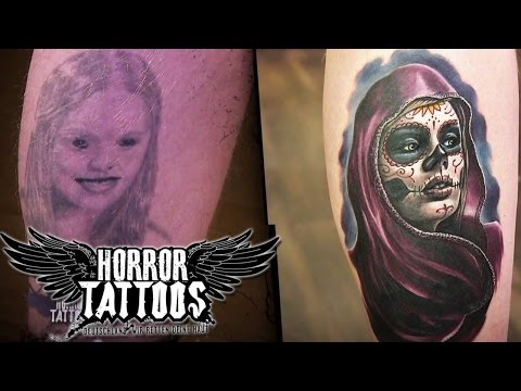 Horror Tattoos   Vorher/nachher   Berlin   sixx
