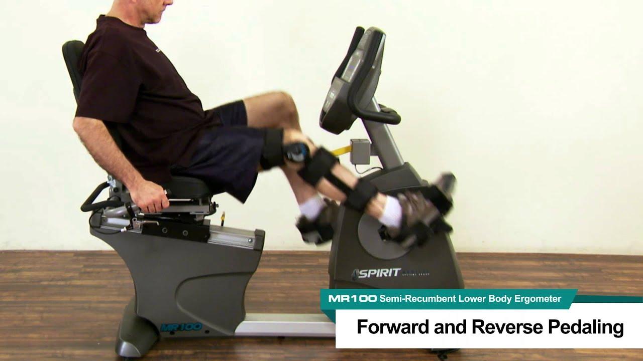 Spirit Recumbent Lower Body Ergometer Bike MR100
