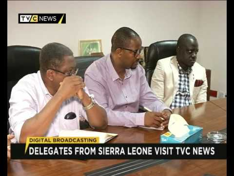 Digital Broadcasting: Delegates from Sierra Leone visit TVC NEWS
