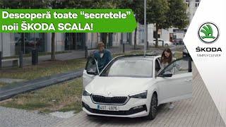"""Descoperă toate """"secretele"""" noi SKODA SCALA!"""