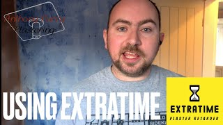 How to use Extratime by Eazymix. timelapse video. Plastering