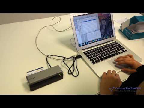 Visitenkartenscanner Im Test Youtube