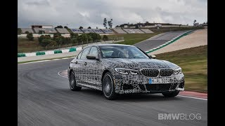 New BMW M340i takes on the track in Portimao