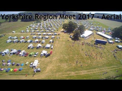 Yorkshire Region Meet 2017 - Aerial Footage