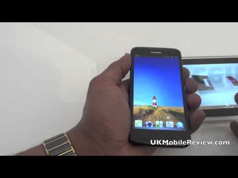 Huawei Ascend D1 Hands On