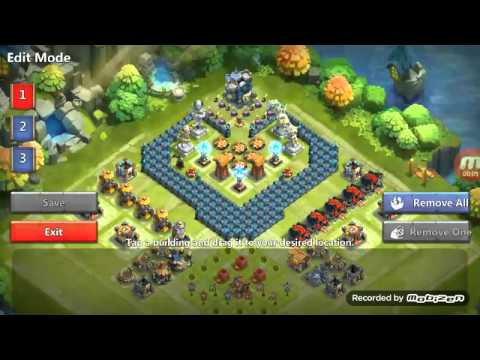 Castle Clash Level 17 Townhall Corner Base Best Defense