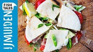 Tuna AÏoli Pitta With Bacon & Avocado   Bart's Fish Tales