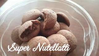 Super nutellotti - Nutella cookies