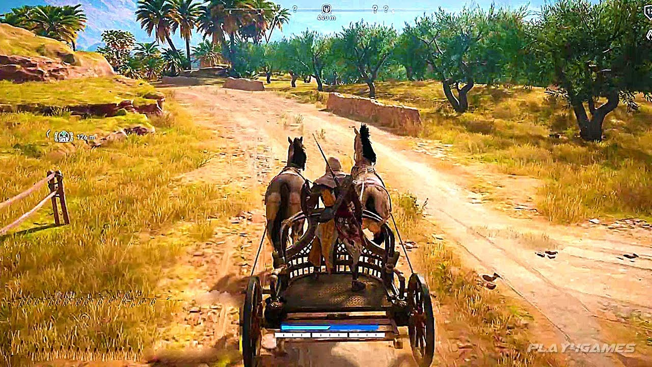 Assassin S Creed Origins 45 Minutes Gameplay Demo Ps4 Xbox One