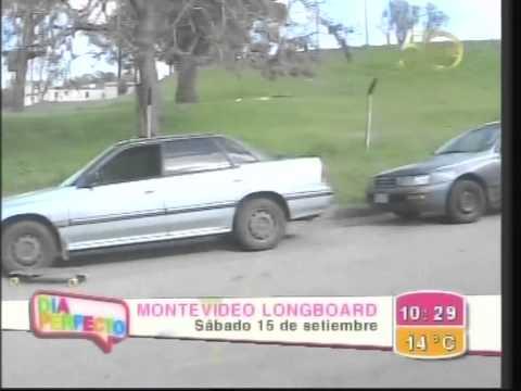 Montevideo Independent Longboard Nota para Canal 12 Día Perfecto con Jujy