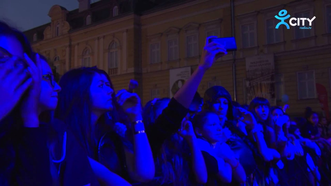КРИСТО – Аромата Ти – Live at Coca-Cola Happy Energy Tour 2014 Sofia