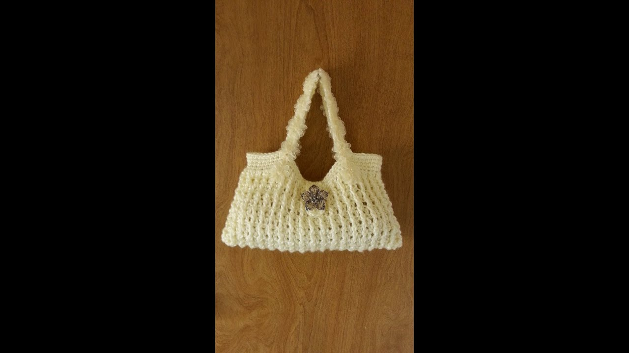 CROCHET How To #Crochet This Awesome Handbag Crochet tutorial #73 ...