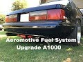 Aeromotive complete fuel system upgrade on my Mustang Coupe 357W