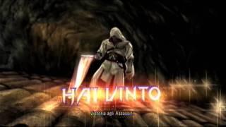 Ezio Auditore in Soul Calibur V e il suo italiano con accento russo