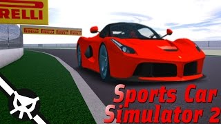 THE MOST REALISTIC RACING GAME ON ROBLOX?! ▼ Sports Car Simulator 2 ▼