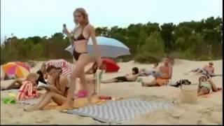 Приколы! Прикол на пляже! Приколы девушки на пляже   СМОТРЕТЬ ВСЕМ!!!