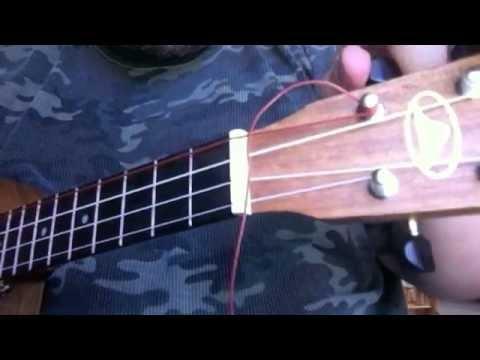 aquila unwound low g red series ukulele string youtube