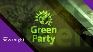 European Elections: Green Party on the environment and Brexit - BBC Newsnight